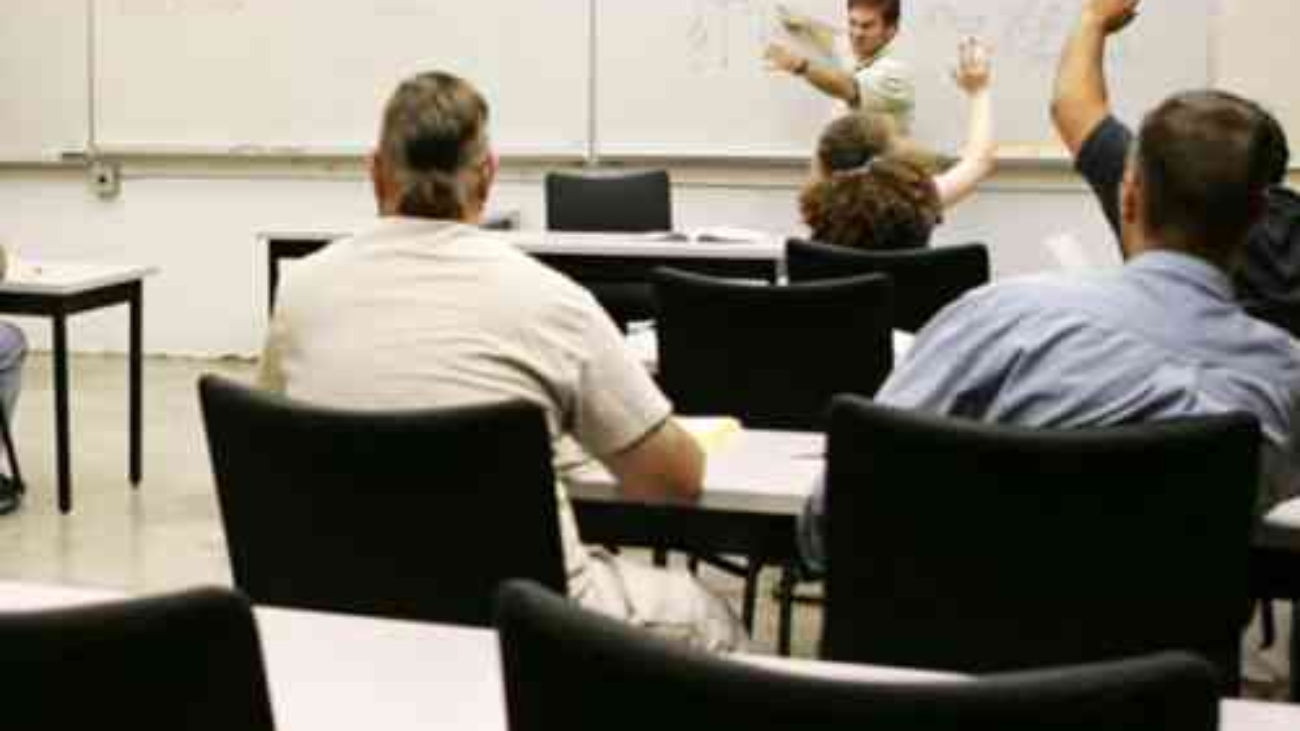 Osha workplace training session.