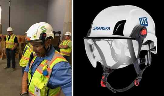 Better Head Protection on the Construction Site