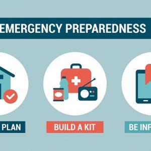 Emergency preparedness instructions