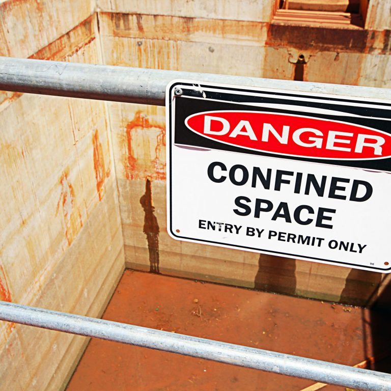 confined space warning